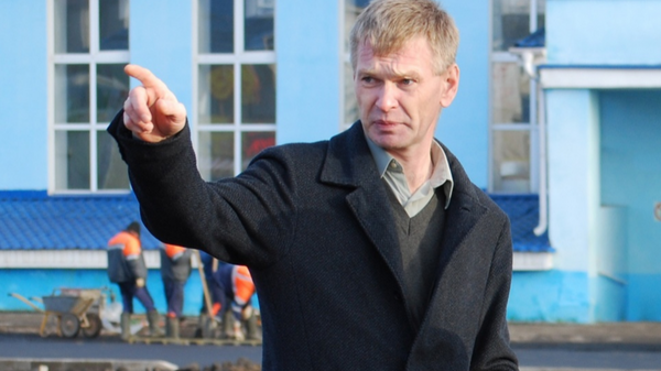 Мэр города Данилов Ярославской области Иван Свечушкин