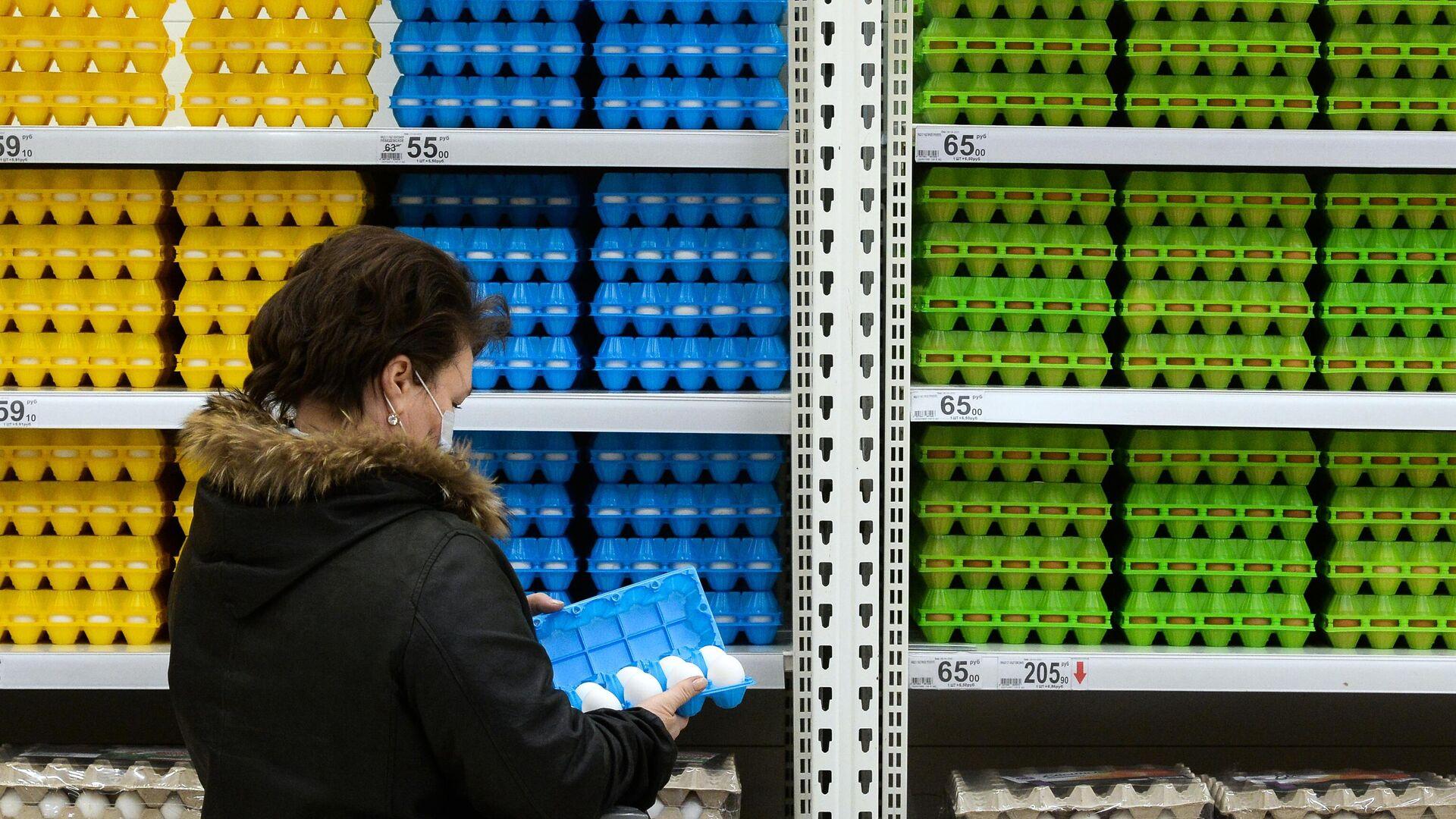 В России подорожали яйца и овощи