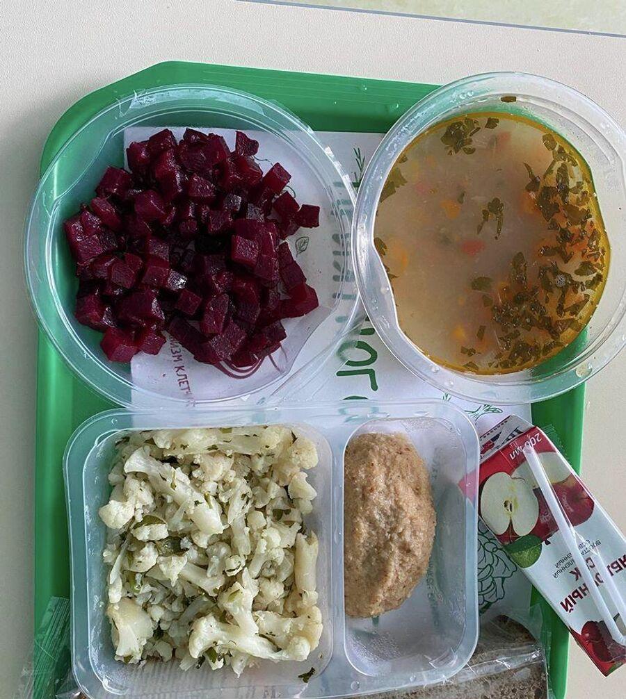Обед в 67-й больнице, где лежала Виктория Багаева