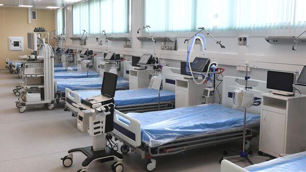 Открытие инфекционного центра в Новой Москве