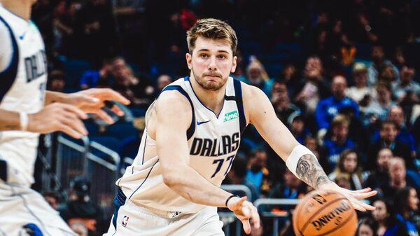 Баскетболист клуба НБА Даллас Мэверикс Лука Дончич