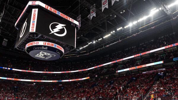 Логотип клуба НХЛ Тампа Бэй Лайтнинг