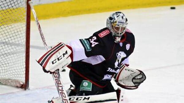 Бывший вратарь хоккейного клуба Трактор Майкл Гарнетт