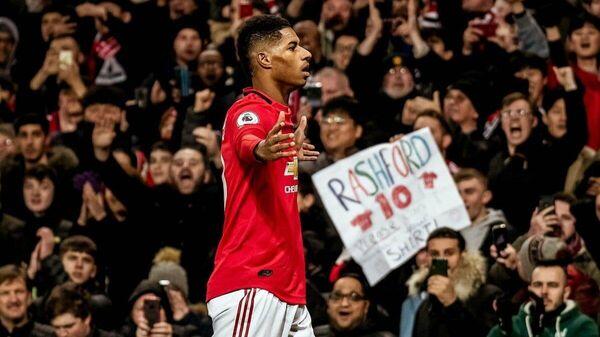 Нападающий Манчестер Юнайтед Маркус Рэшфорд