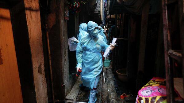 Медицинские работники в Мумбаи