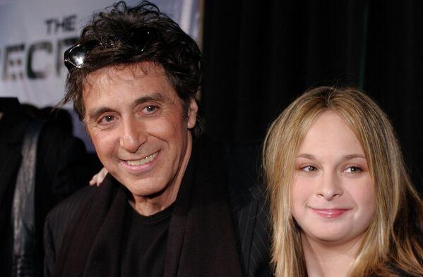 Аль Пачино со своей дочерью Джулией