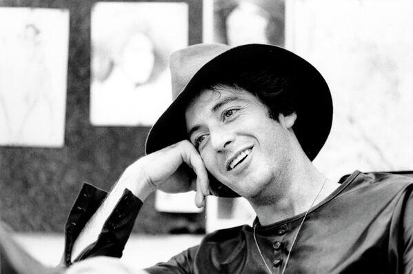Актер Аль Пачино во время интервью. 21 сентября 1973