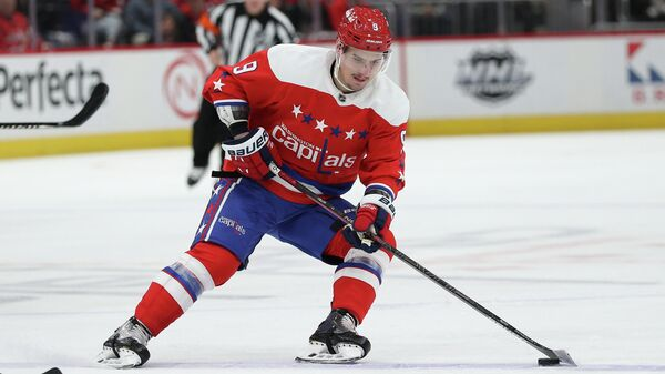 Защитник клуба НХЛ Вашингтон Дмитрий Орлов