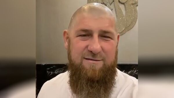 Рамзан Кадыров. Стоп-кадр видео