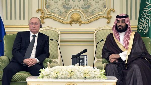 Путин обсудил с наследным принцем Саудовской Аравии рынок энергоносителей