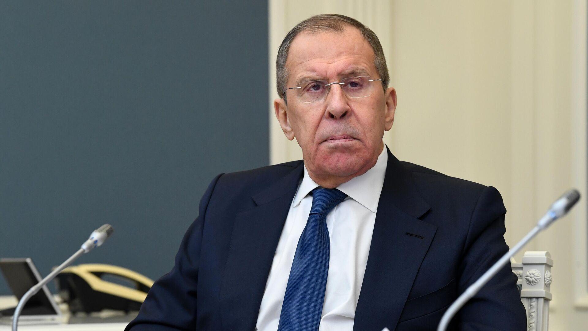 Министр иностранных дел РФ Сергей Лавров - РИА Новости, 1920, 08.09.2020
