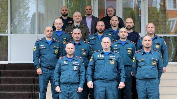 Сотрудники МЧС Чеченской Республики приняли эстафету Чистая голова! Стоп коронавирусу!