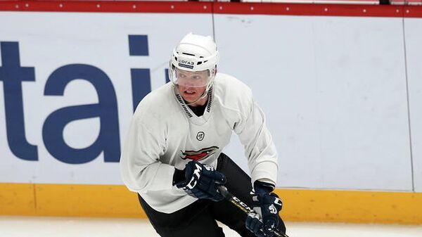 Нападающий хоккейного клуба Авангард Алексей Терещенко