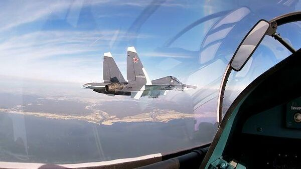 Видео полетов фронтовых бомбардировщиков