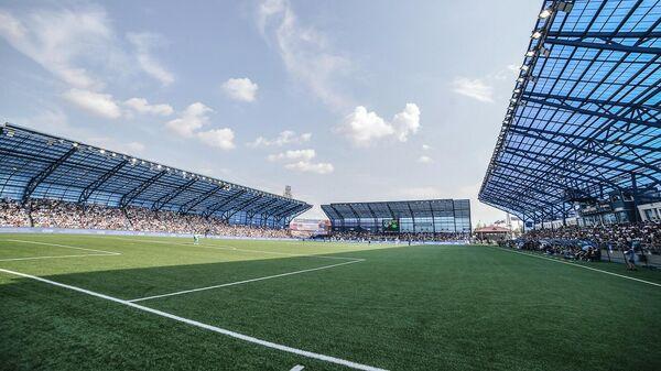 Домашний стадион футбольного клуба Оренбург Газовик