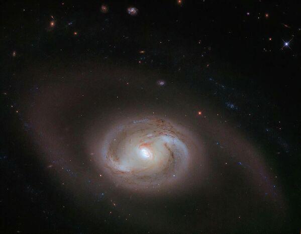 NGC 2273  — спиральная галактика с перемычкой в созвездии Рысь