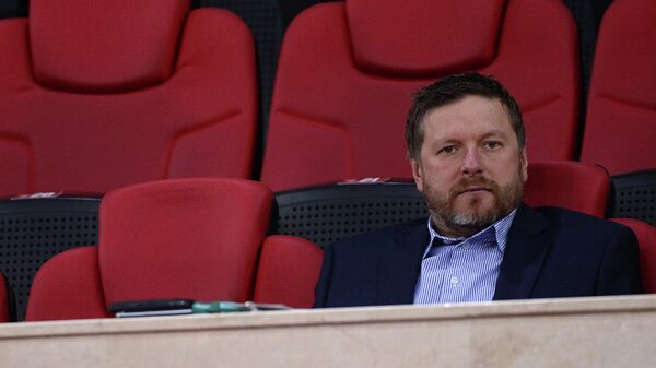Российский теннисист Евгений Кафельников