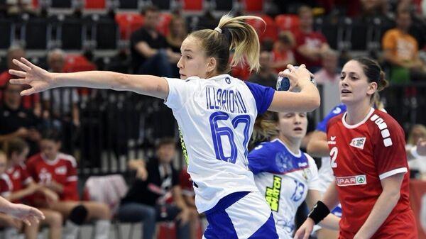 Гандболистка сборной России Анастасия Илларионова