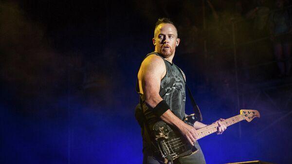 Бас-гитарист группы Linkin Park Дэвид Майкл Фаррелл