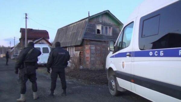 Кадры контртеррористической операции в Екатеринбурге