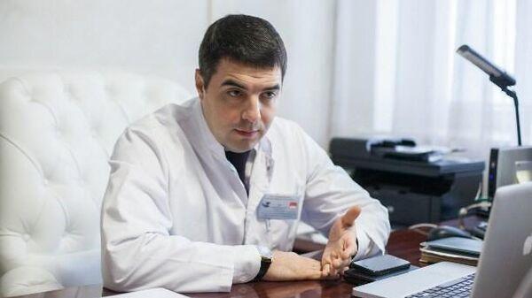 Министр здравоохранения Тульской области Эрк Алексей