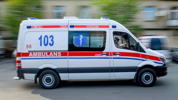 Автомобиль службы скорой помощи в Азербайджане