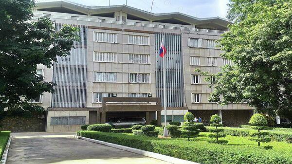 Здание посольства Российской Федерации в Королевстве Камбоджа