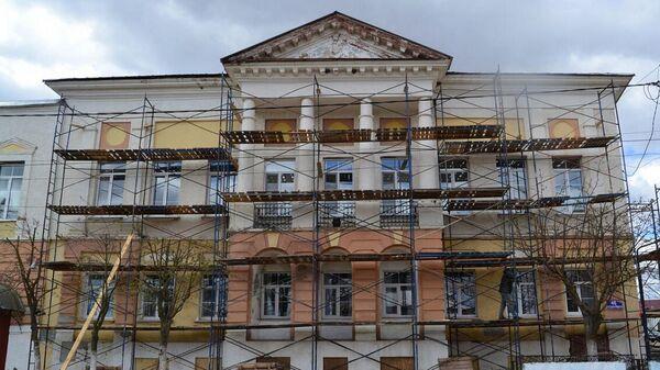 Реставрация дома Сторожева в Одоеве
