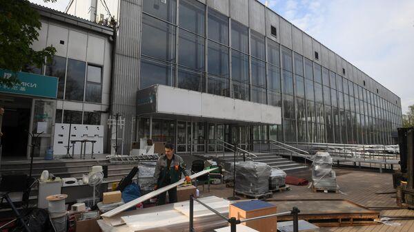 Строительство временных госпиталей для пациентов с COVID-19