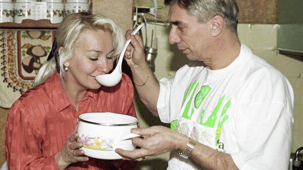 Георгий Ярцев с супругой