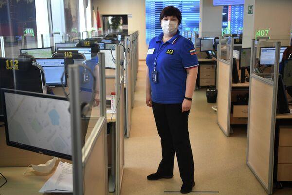 Мария Карпухина - главный специалист Служба 112