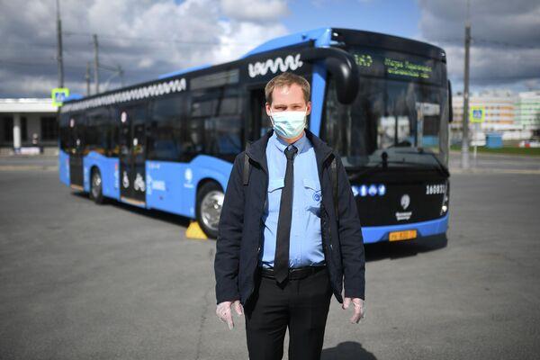 Кирьянов Матвей - водитель автобуса филиала Южный ГУП Мосгортранс