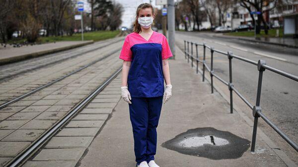 Студентка Первого МГМУ имени И.М. Сеченова, волонтер-медик, Татьяна Попова