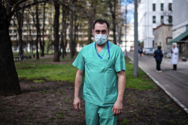 Сергей Навзади, врач-хирург НИИ скорой помощи им. Н.В. Склифосовского
