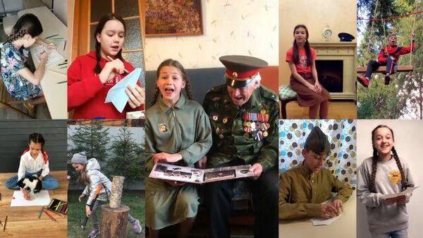 Пора в путь-дорогу: юные артисты Большого театра поздравили ветеранов
