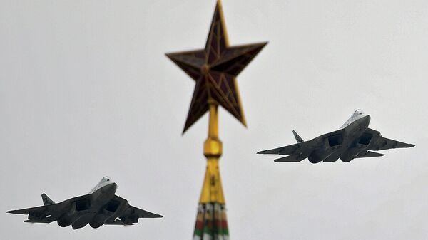 ВКС проведет авиационную тренировку воздушного парада над Москвой