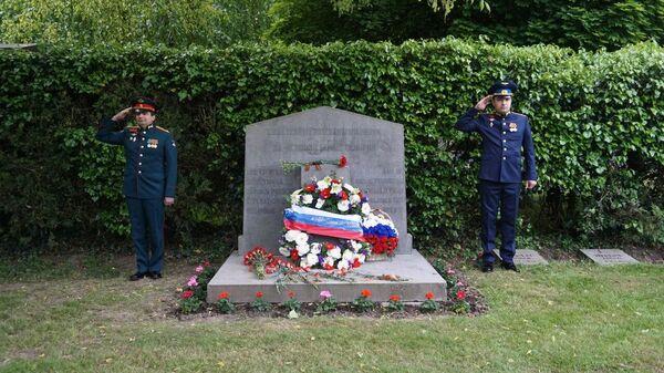 Монумент советским воинам в Брюсселе