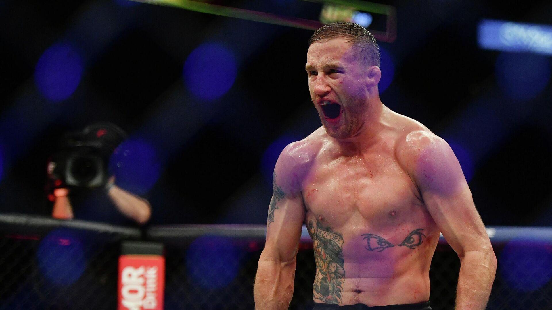 Американский боец UFC Джастин Гэтжи - РИА Новости, 1920, 30.06.2020
