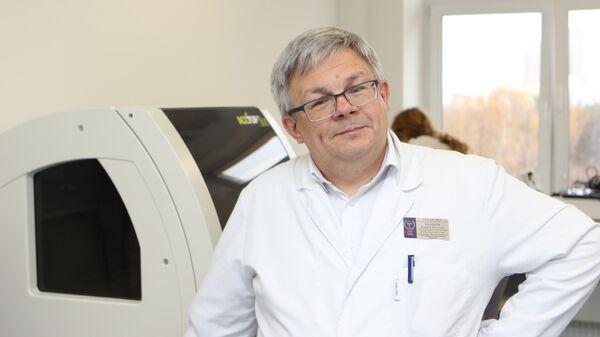 Руководитель консультативной трансфузиологической бригады 52-й городской клинической больницы Андрей Буланов