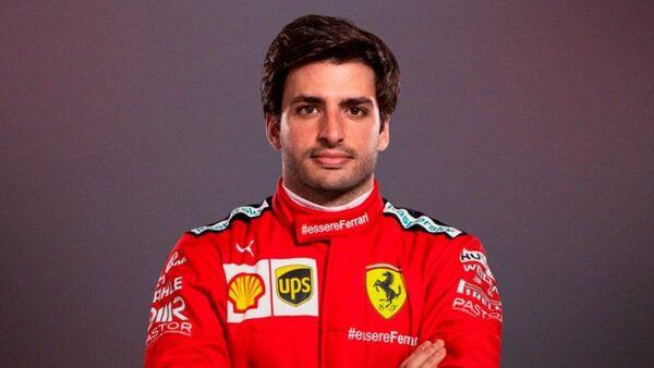 Пилот команды Формулы-1 Феррари Карлос Сайнс-младший