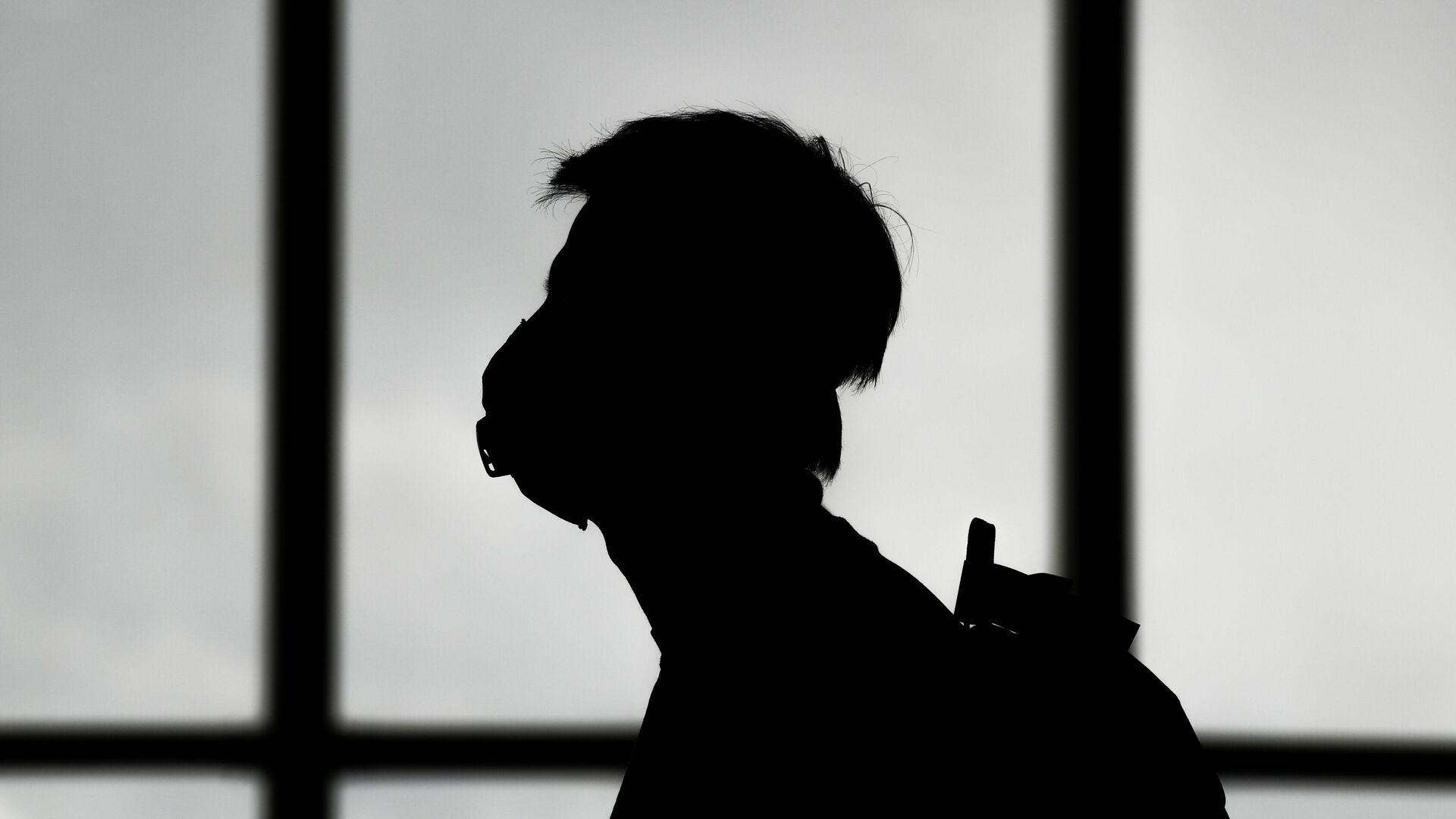 Пассажир в аэропорту Шереметьево в Москве - РИА Новости, 1920, 18.01.2021