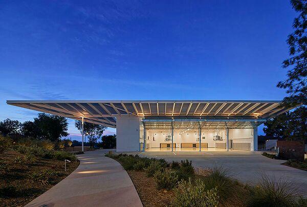 Семейный павильон Кац. Лос-Анджелес, США. Lehrer Architects LA, номинация New Facilities
