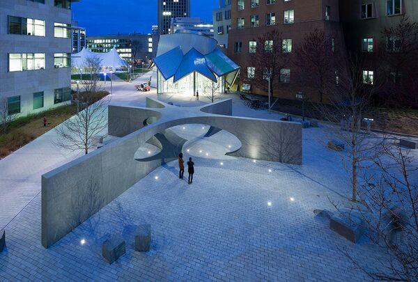Мемориал Коллиера в MIT. Кембридж, США. Höweler+Yoon Architecture, номинация Sacred Landscape