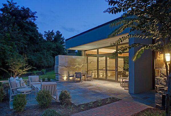 Комната Созерцания Хосписа Гилкриста. Таусон, США. Levin/Brown and Associates, Inc., номинация Visual Arts