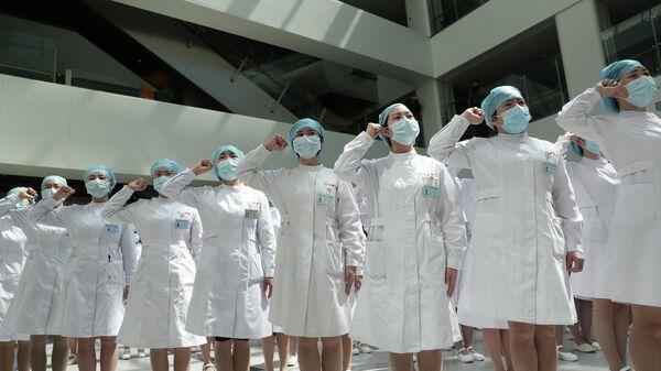 Медсестры в Китае