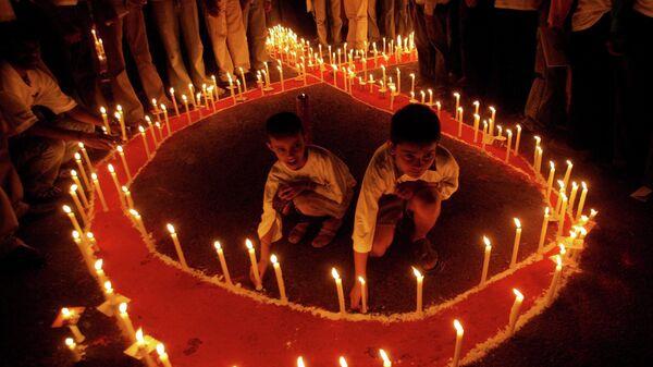 День памяти умерших от СПИДа в Нью-Дели