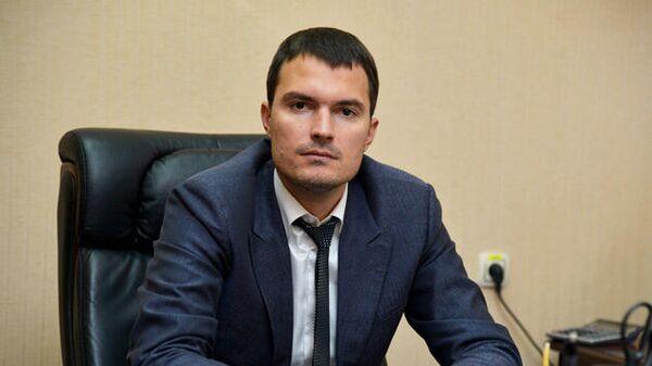 Директор новоуренгойского волейбольного клуба Факел Николай Капранов
