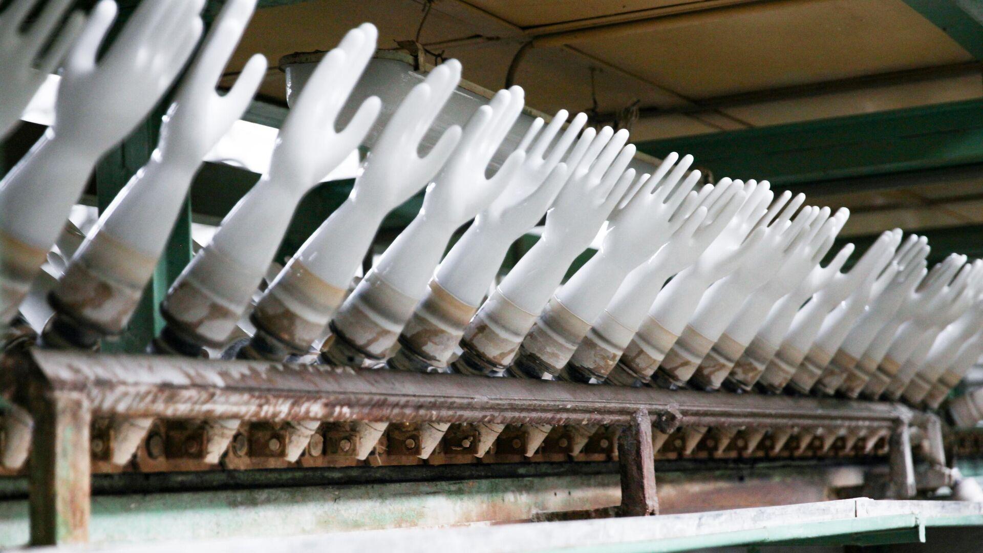 На Тамбовщине организуют первое в России производство нитриловых перчаток