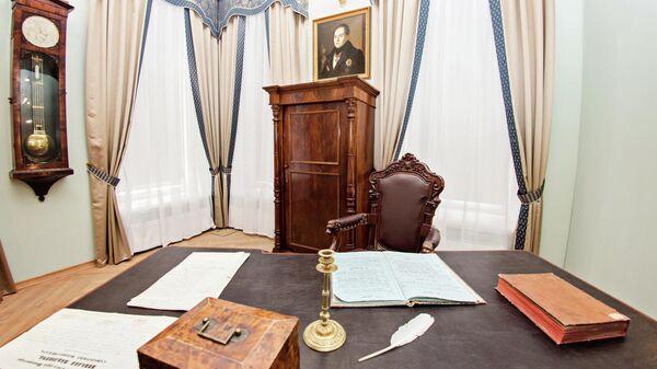 Кабинет в музее Н.И. Лобачевского в Казанском федеральном университете