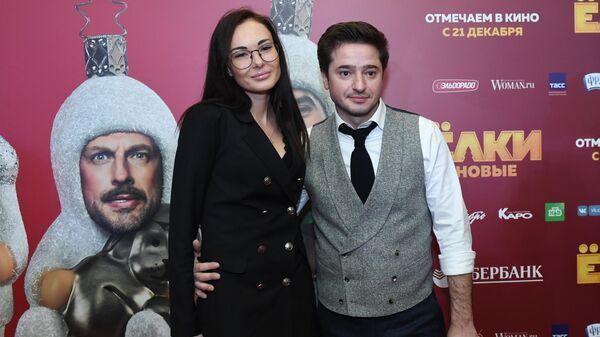Актер Иван Стебунов на премьере фильма Елки новые